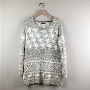 Left on Houston Chunky Knit Sweater (Small)